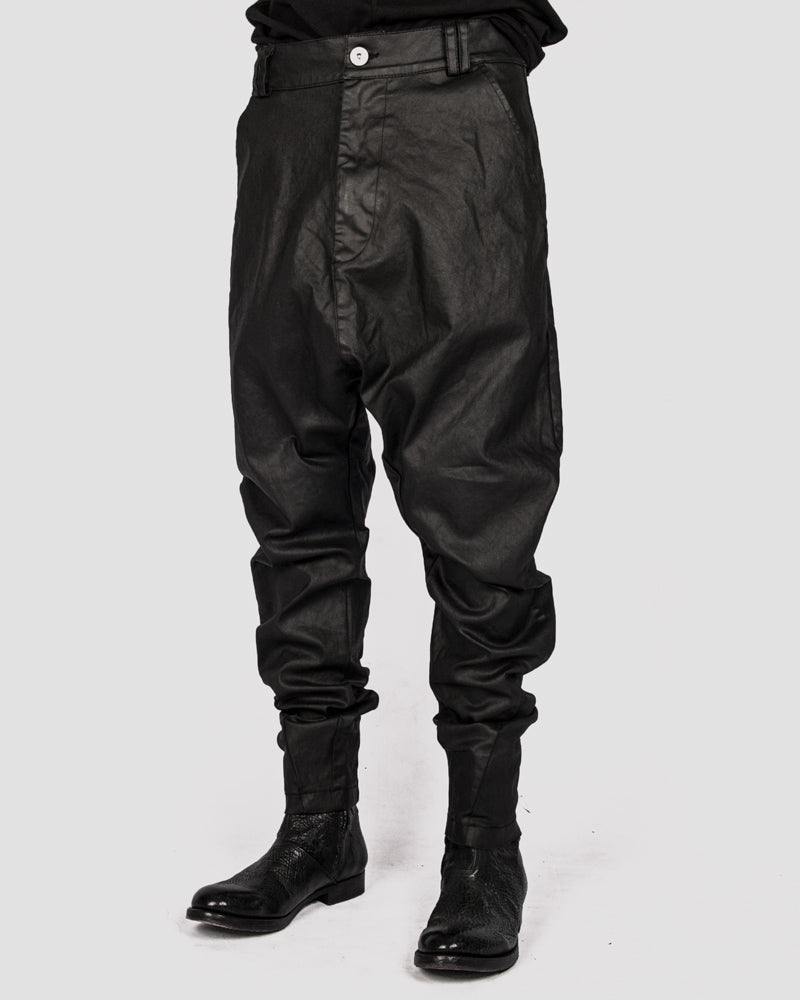 Army of me - Coated low crotch denim - Stilett
