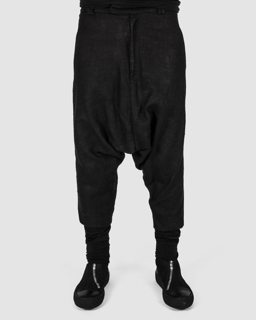 Coated sock trouser
