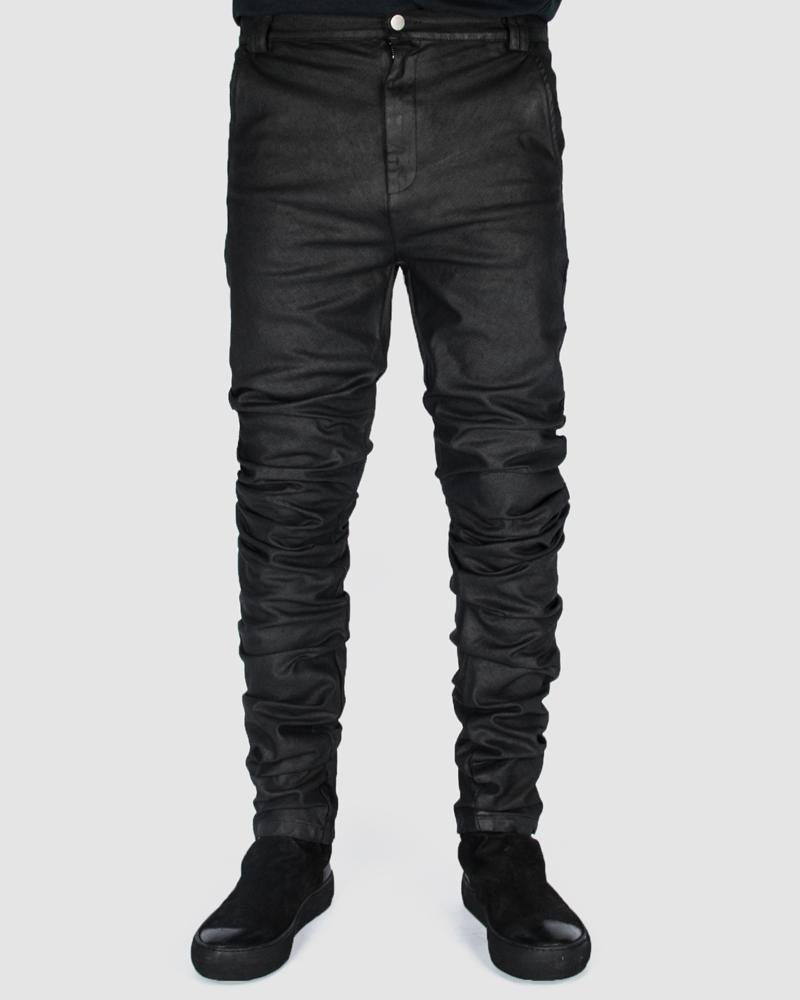 Army of me - Coated twisted jeans - Stilett.com