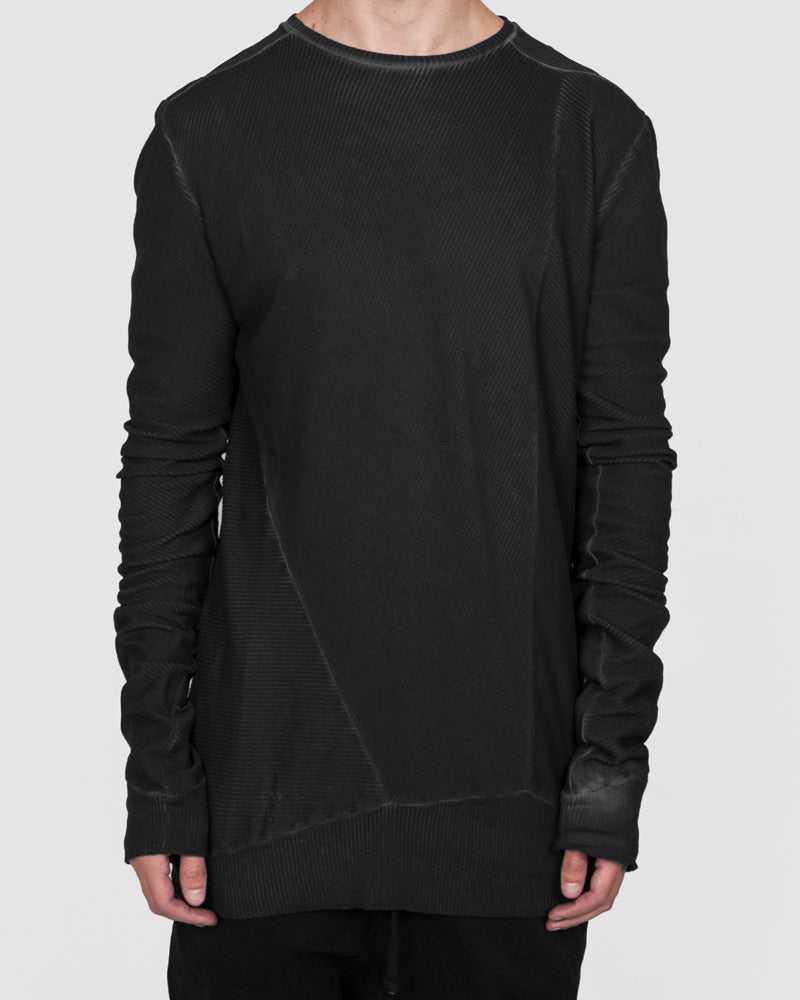 Army of me - Cotton rib sweatshirt graphite - Stilett.com