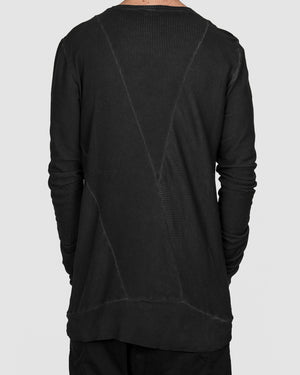 Army of me - Cotton rib sweatshirt graphite - https://stilett.com/