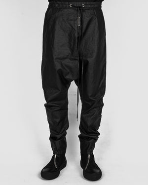 Army of me - Dropped crotch linen trousers - https://stilett.com/