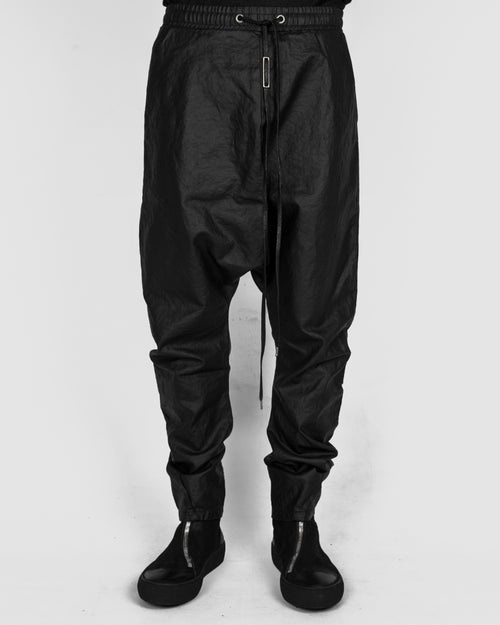 Army of me - Dropped crotch linen trousers - Stilett.com