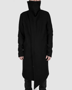 Army of me - Highneck wool coat - https://stilett.com/