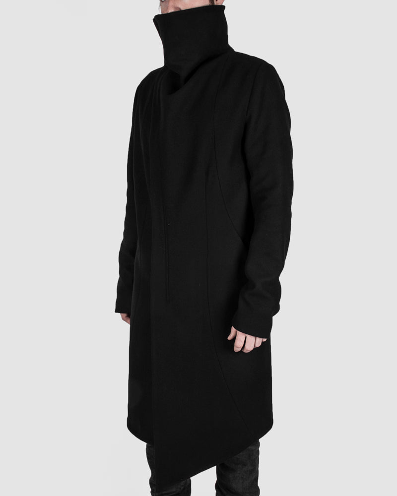 Army of me - Highneck wool coat - Stilett