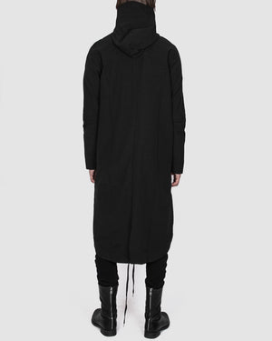 Army of me - Hooded fishtail raincoat - https://stilett.com/