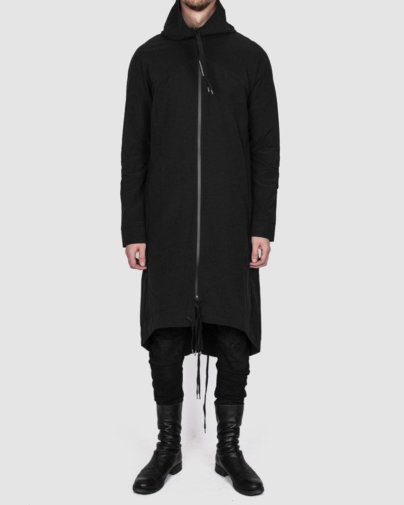 Army of me - Hooded fishtail raincoat - Stilett.com