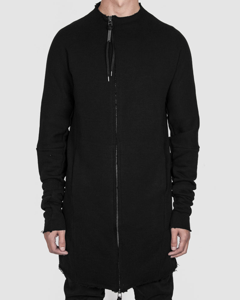 Army of me - Hoodless zip up sweatshirt black - Stilett