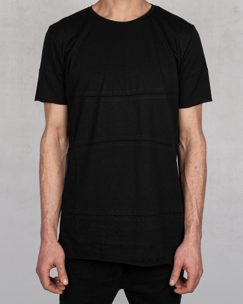 Army of me - Horizontal cut t-shirt black - https://stilett.com/