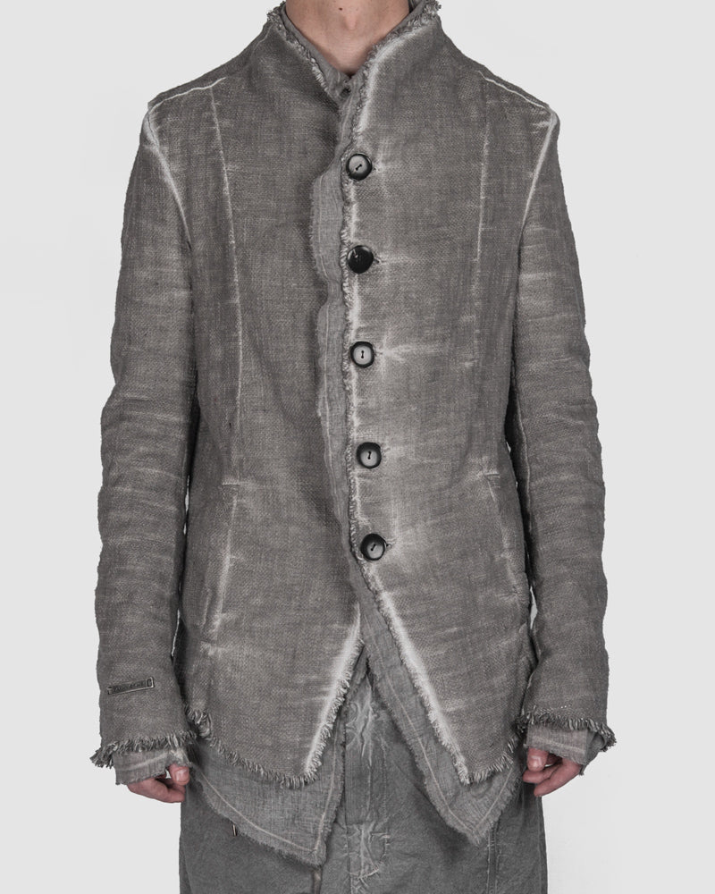 Army of me - Layered button up jacket clay - https://stilett.com/