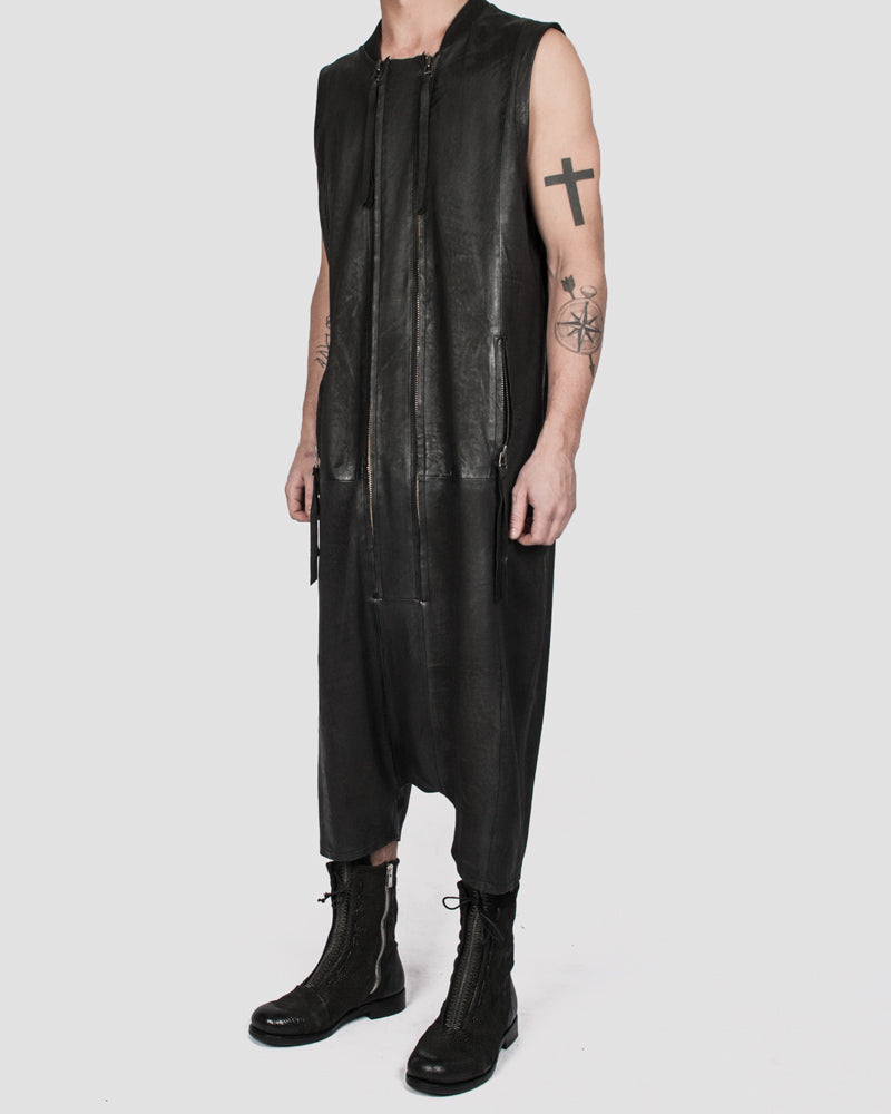 Army of me - Leather jumpsuit - Stilett