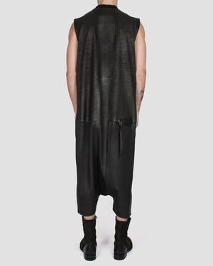 Army of me - Leather jumpsuit - https://stilett.com/