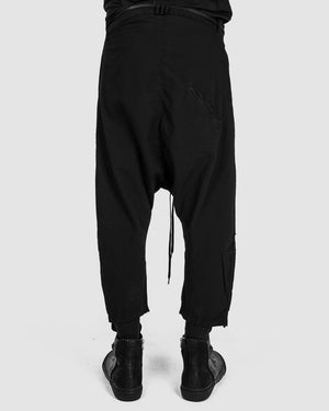Army of me - Light cropped cotton trousers - https://stilett.com/
