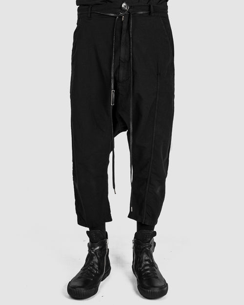 Army of me - Light cropped cotton trousers - Stilett