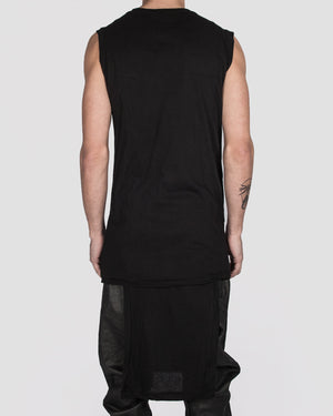 Army of me - Lightweight cotton paneled vest - https://stilett.com/