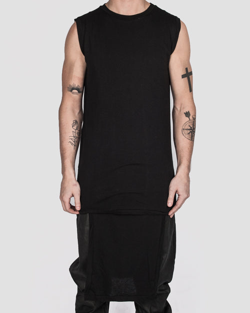 Army of me - Lightweight cotton paneled vest - Stilett