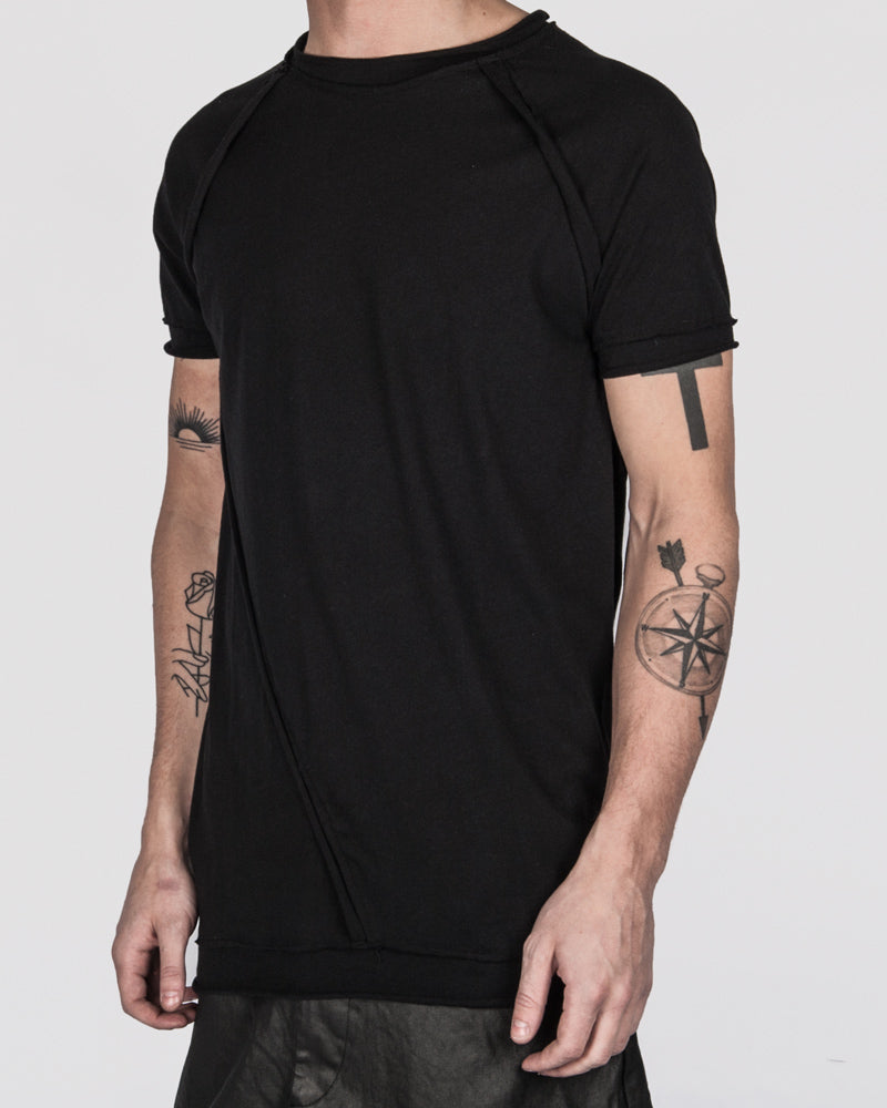 Army of me - Raw cut detail t-shirt - Stilett