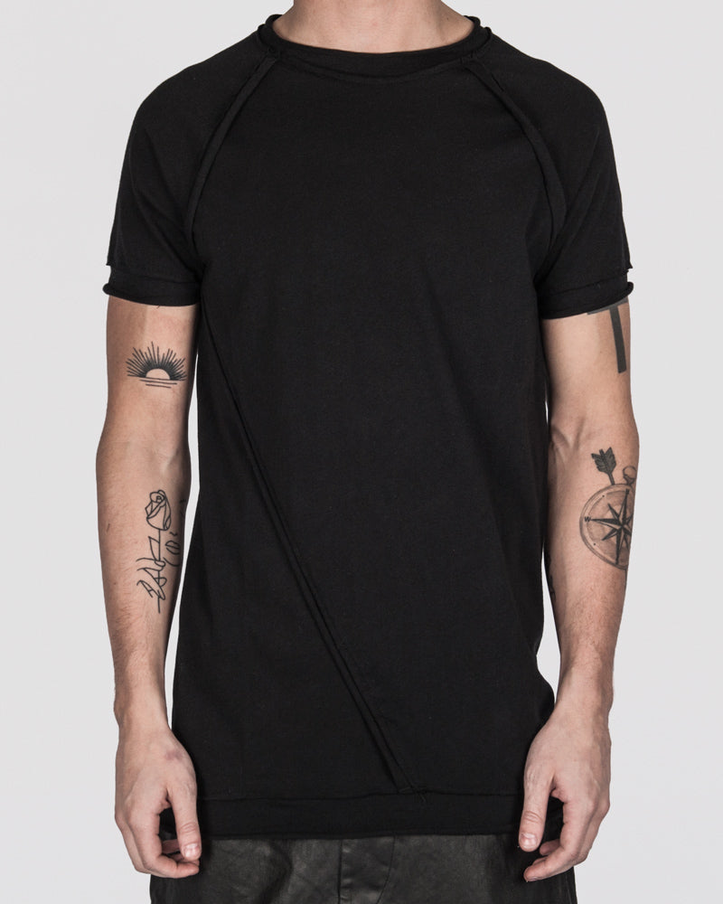 Army of me - Raw cut detail t-shirt - https://stilett.com/