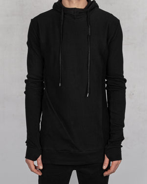 Army of me - Ribbed hooded sweatshirt - https://stilett.com/