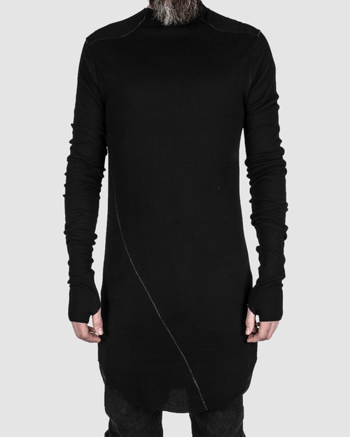 Army of me - Ribbed long sleeve tee - Stilett