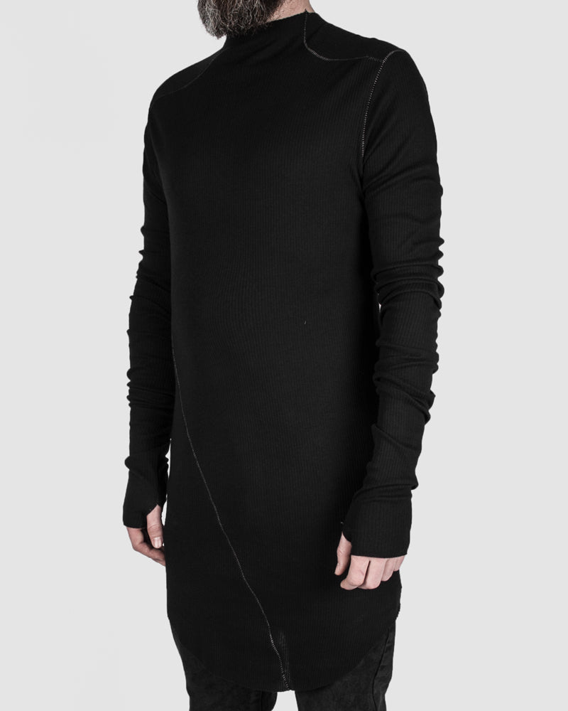 Army of me - Ribbed long sleeve tee - Stilett.com
