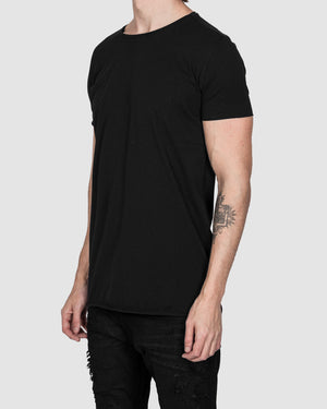 Army of me - Scar stitched cotton tshirt black - https://stilett.com/