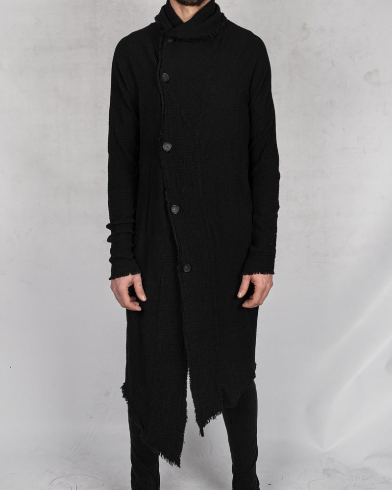 Army of me - Structured cotton cardigan - Stilett.com