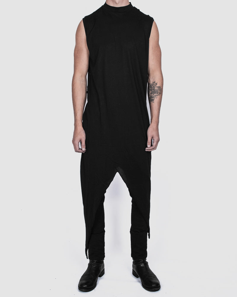 Army of me - Tigon lightweight cotton vest black - Stilett.com