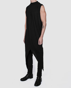Army of me - Tigon lightweight cotton vest black - https://stilett.com/