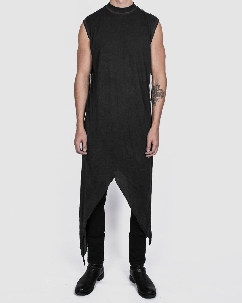 Army of me - Tigon lightweight cotton vest graphite - Stilett.com