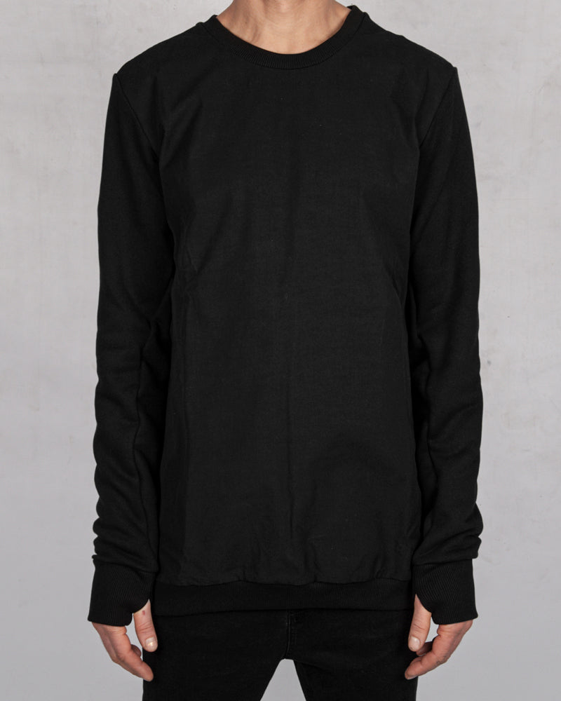 Army of me - Waterproof front sweatshirt black - Stilett.com