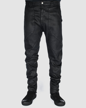 Army of me - Waxed curve trouser - https://stilett.com/