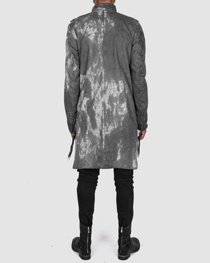Army of me - Zip up cotton coat stained - https://stilett.com/