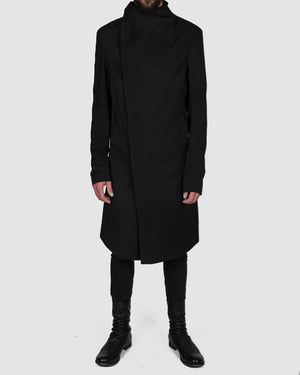 army of me - Zip up fitted wool coat - https://stilett.com/