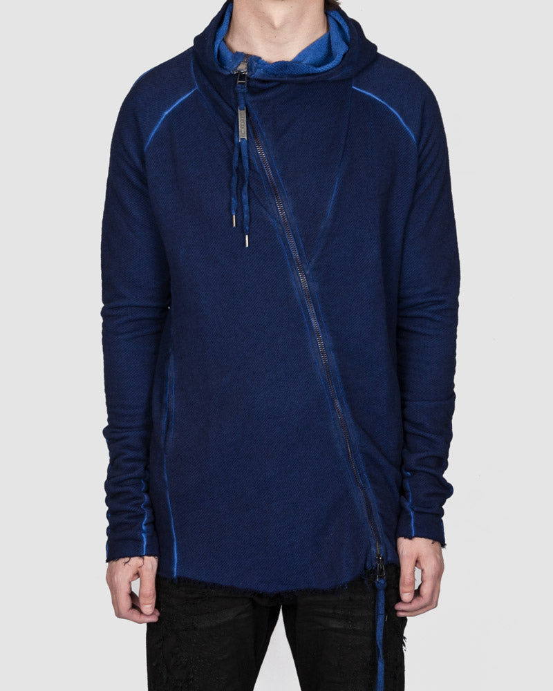 Army of me - Zip up hodded sweatshirt royal blue - Stilett.com