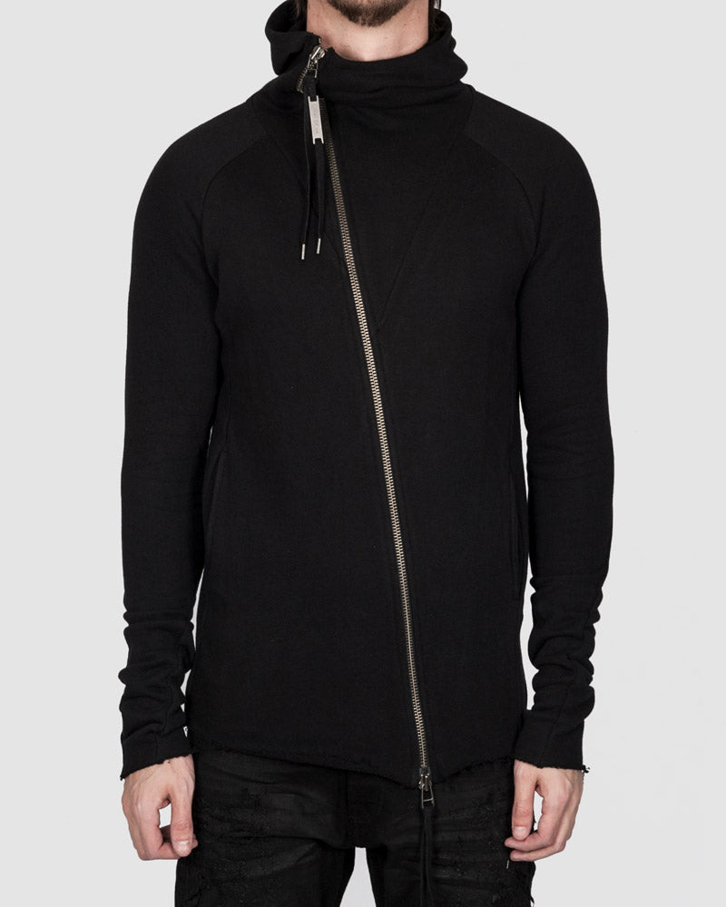 Army of me - Zip up hooded sweatshirt black - https://stilett.com/