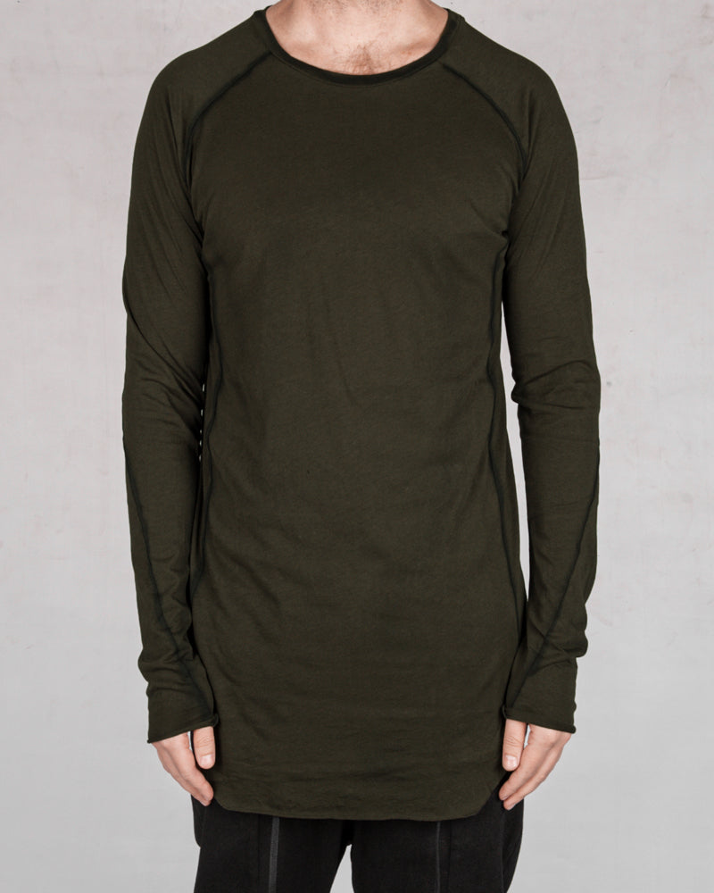 Army of me - Mittened long sleeved jersey moss - Stilett.com