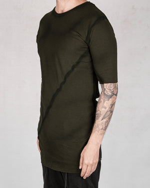 Army of me - Ribbed tshirt moss - https://stilett.com/