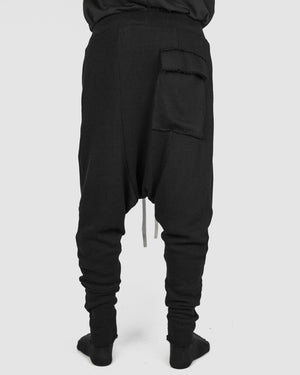Atelier Aura - Ósk drawstring trouser black - https://stilett.com/