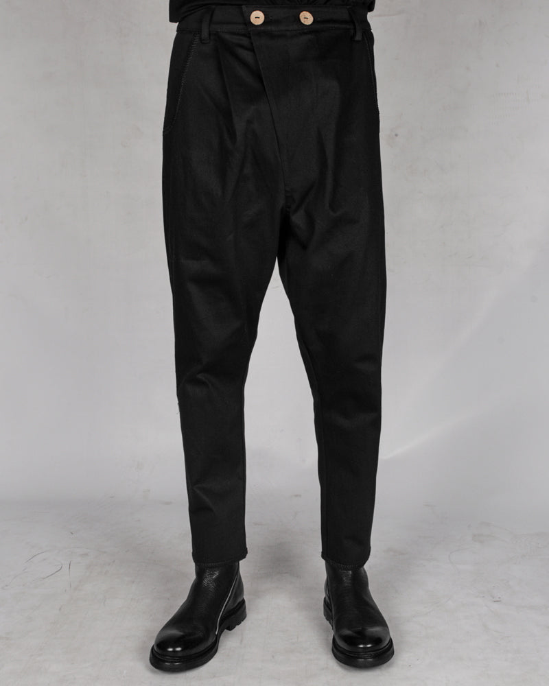 Atelier Aura - Ari denim dropcrotch trouser - Stilett.com