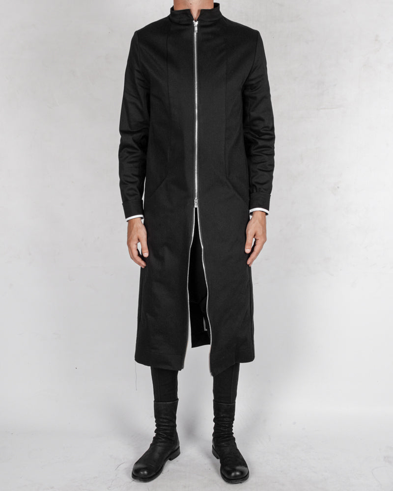 Atelier Aura - Isak zipped long coat - Stilett.com