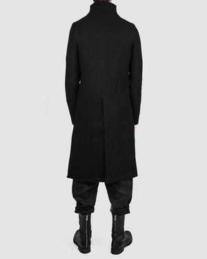 Atelier Aura - Isak zipped wool coat - https://stilett.com/