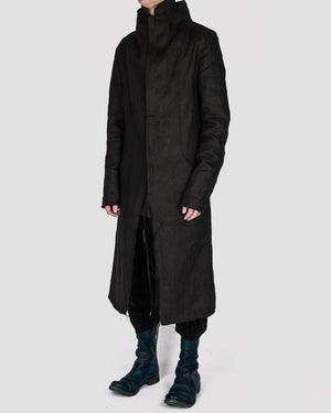 Atelier Aura - Isak zipped coat - https://stilett.com/