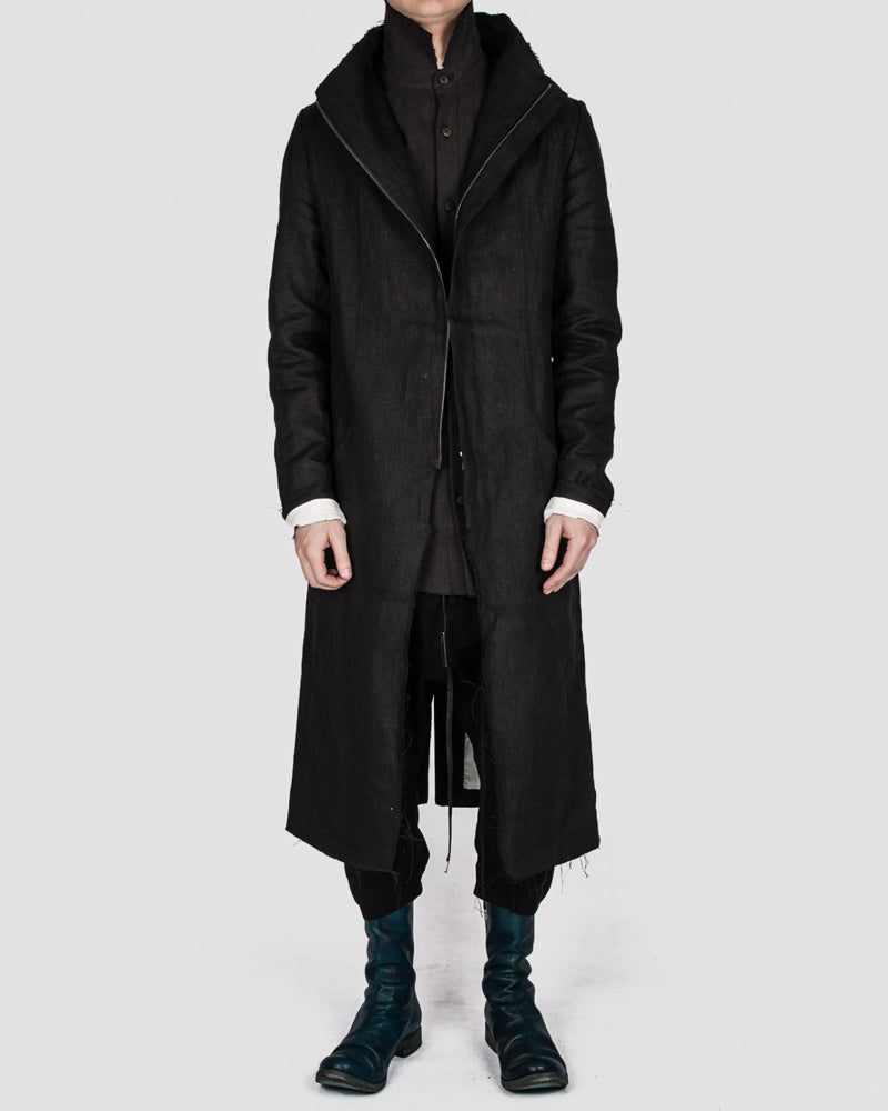 Atelier Aura - Isak zipped coat - Stilett