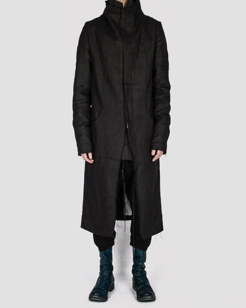 Atelier Aura - Isak zipped coat - Stilett.com
