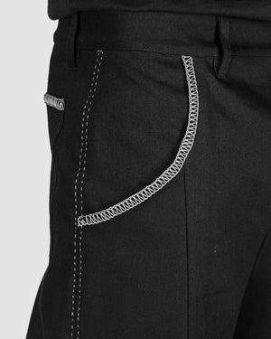 Atelier Aura - Jon long denim trousers - https://stilett.com/