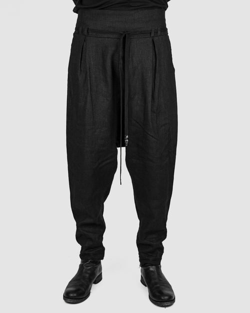 Atelier Aura - Smàri high waist trouser black - Stilett.com