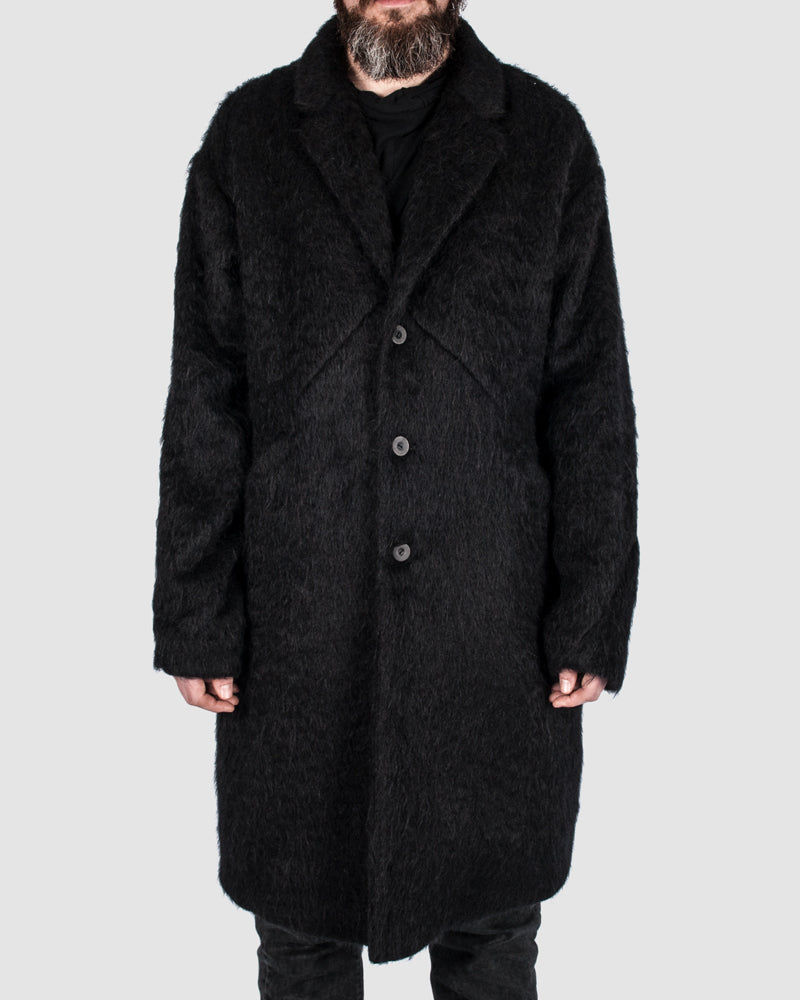 Barbara i gongini - Alpaca mohair coat - https://stilett.com/