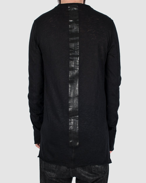 Taped back long sleeve