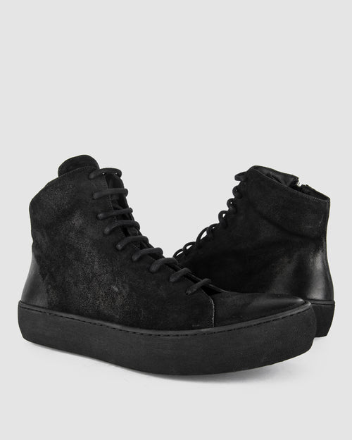 The last conspiracy - Ollie waxed suede - Stilett.com